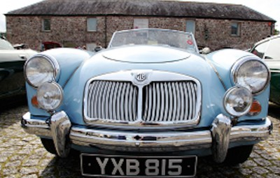 A Classic Car, courtesy of the National Botanical Garden of Wales.