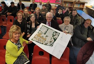 Plans for a major investment in Five Roads School have been shown to parents and the community.