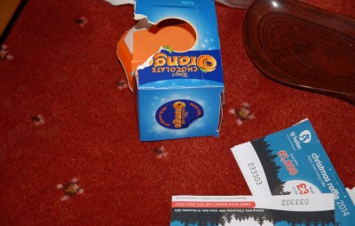 A Neath burglar has been sent to prison after he was arrested by police and found in possession of money and a Terry's Chocolate Orange which he had stolen from his elderly victim.